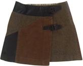 Burberry Brown Skirt