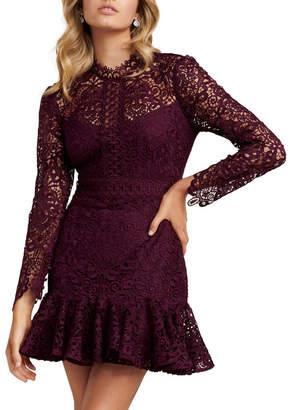 Forever New Petite Apple Petite Lace Mini Dress