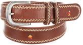 Henry Beguelin Buckle-Embellished Belt