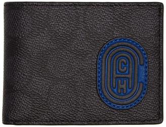 Coach 1941 Grey Patch Slim Billfold Wallet