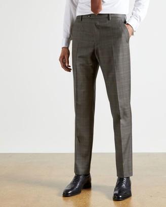 Ted Baker Debonair Check Wool Suit Trousers