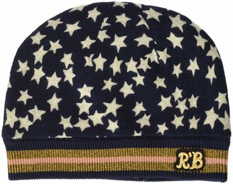 Scotch & Soda RBelle Girl's Knitted Beanie with Allover Print Hat