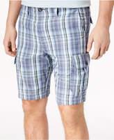 Tommy Bahama Men's Marina Bay Plaid Cargo Shorts