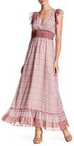 Max Studio Floral Maxi Dress