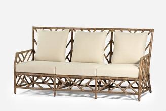 Wisteria Designs Chinois Rattan Sofa