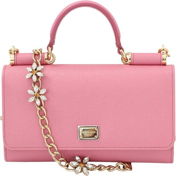 Dolce & Gabbana Sicily Von Crystal Belt And Wallet