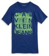 Calvin Klein Jeans Boys Abstract Logo Tee