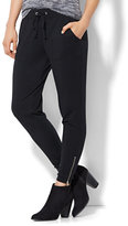 New York & Co. Lounge - Zip-Accent Jogger