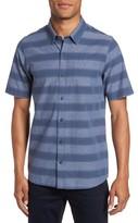 Travis Mathew Men's Kenneth Stripe Sport Shirt