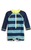 Tea Collection Infant Boy's Shima One-Piece Rashguard Swimsuit