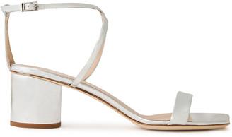 Giuseppe Zanotti Mirrored-leather Sandals
