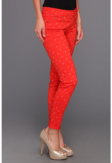 Vince Camuto TWO by Shorty Jean In Floral Stars in Fiery Red
