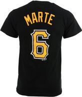 Majestic Men's Starling Marte Pittsburgh Pirates Official Player T-Shirt