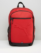Puma Buzz Backpack In Red 7358114
