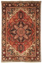 Safavieh Old World Collection Handmade Rust and Navy Wool Area Rug, 4-Feet by 6-Feet