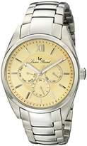 Lucien Piccard Men's LP-13455-16 Preston Analog Display Japanese Quartz Silver Watch