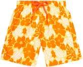 Vilebrequin Hawian Turtle Print Swim Shorts