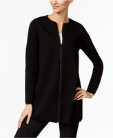 Alfani Petite Textured Swing Jacket, Only at Macy's