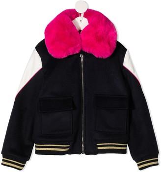 Billieblush Embellished Bomber Jacket