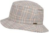 Wigens Plaid Bucket Cap (For Men)