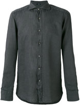 Fay long sleeve shirt - men - Linen/Flax - 39
