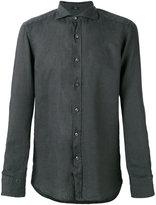 Fay long sleeve shirt - men - Linen/Flax - 44
