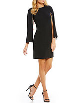 DKNY Split 3/4 Sleeve Shift Dress