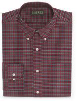 Lauren Ralph Lauren Classic Fit Plaid Dress Shirt