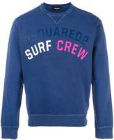 DSQUARED2 Surf Crew sweatshirt - men - Cotton - XL