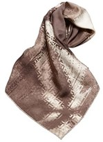 Fendi Pre-owned: Abstract Print Silk Scarf.
