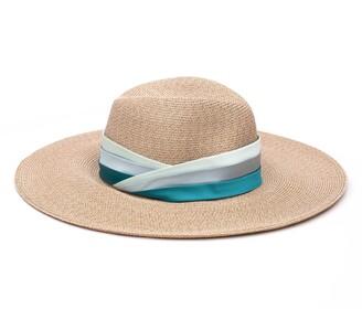 Eugenia Kim Cassidy Satin Band Straw Hat
