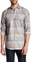 Thomas Dean Printed Long Sleeve Regular Fit Shirt