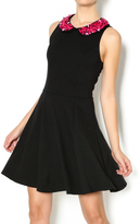 Eight Sixty Black Beaded Dress