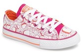 Converse Girl's Chuck Taylor All Star Valentines Ox Sneaker