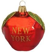 """Kurt Adler New York"""" Glass Apple Ornament"""
