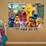 Fathead Sesame Street Group Mural Wall Decals by