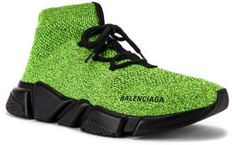 Balenciaga Speed Light Lace-Up Sneaker in Yellow | FWRD