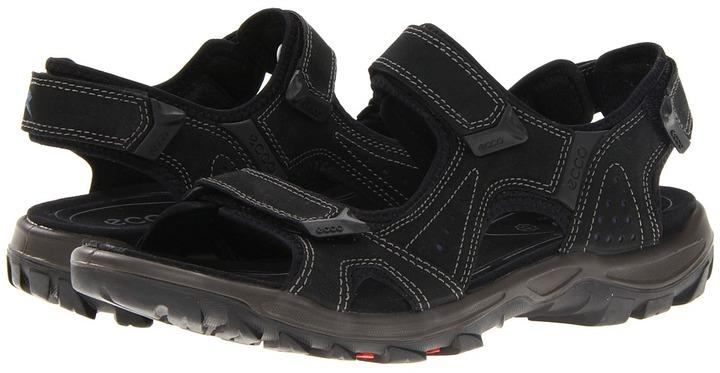 Ecco Sport - Offroad Lite Sandal 2 (Warm Grey/Olive Oil/Desert Night/Synthetic) - Footwear