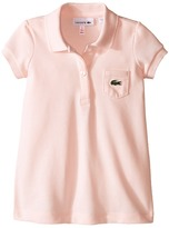 Lacoste Kids Short Sleeve Classic Pique Polo Dress (Toddler/Little Kids/Big Kids)