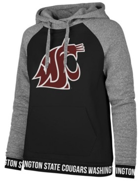 '47 Women's Washington State Cougars Encore Revolve Hooded Sweatshirt