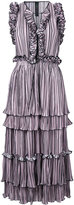 Romance Was Born blossoming pleat dress - women - Polyester - 6