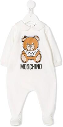MOSCHINO BAMBINO Long Sleeve Teddy Print Body