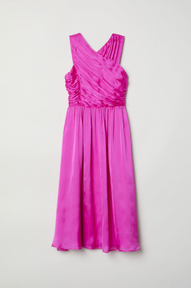 H&M Draped Dress - Pink