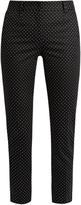 Dolce & Gabbana Slim-leg polka-dot print trousers