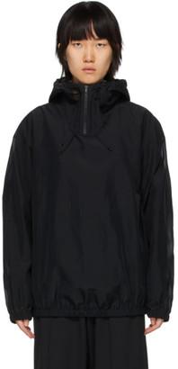 Y-3 Black Swim Hooded Jacket