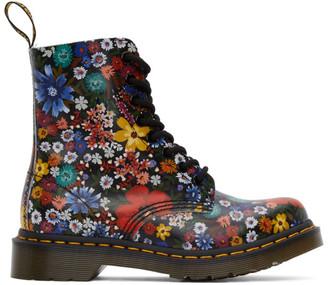 Dr. Martens Multicolor 1460 Pascal Floral Boots