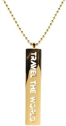 Cristina Ramella Travel the World Pendant Chain Necklace