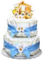 Bed Bath & Beyond Burt's Bees® Diaper Cake Centerpiece in Blue
