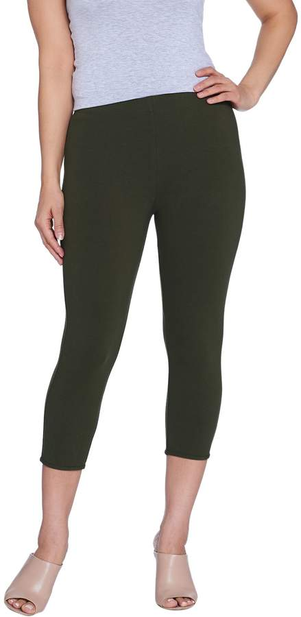 ad2243ce9776d4 Stretch Cotton Spandex Pull-on Pants - ShopStyle