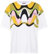 Emilio Pucci Printed cotton T-shirt